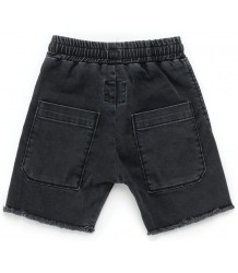 Nununu Side Hem Denim Shorts Nununu Side Hem Denim Shorts