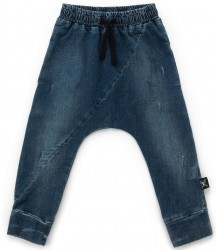 Nununu Diagonal Denim Pants Nununu Diagonal Denim Pants