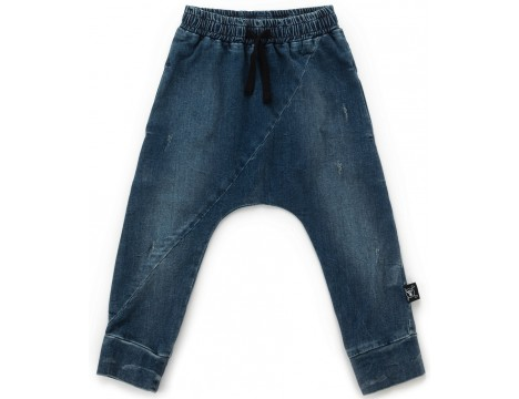 Nununu Diagonal Denim Pants