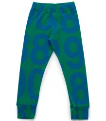 Nununu NUMBERED Leggings Nununu NUMBERED Leggings green