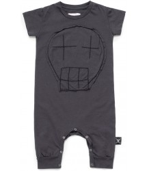 Nununu SKETCH SKULL Playsuit Nununu SKETCH SKULL Playsuit