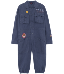 The Animals Observatory Grashopper Kids jumpsuit LANDSCAPE The Animals Observatory Grashopper Kids jumpsuit LANDSCAPE blue