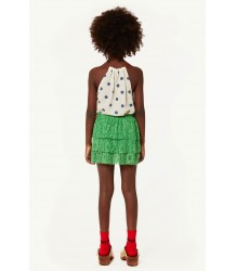 The Animals Observatory Turkey Kids Skirt LACE The Animals Observatory Turkey Kids Skirt LACE emerald green