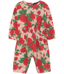 The Animals Observatory Meerkat Babies Jumpsuit ROSES The Animals Observatory Meerkat Babies Jumpsuit ROSES
