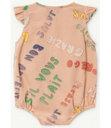 The Animals Observatory Butterfly Babies Jumpsuit WORDS The Animals Observatory Butterfly Babies Jumpsuit WORDS