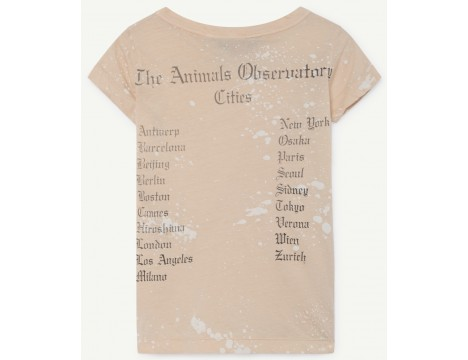 The Animals Observatory Hippo Kids T-shirt SPLASH