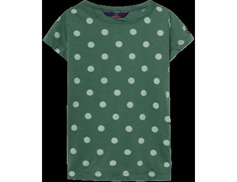 The Animals Observatory Hippo Kids T-shirt POLKA DOT