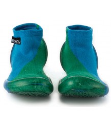 Nununu Collegien Slippers ½ & ½ Nununu Collegien Slippers ? & ? green blue