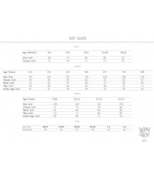 Wauw Capow Aya Baby Pants BangBang CPH size chart