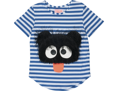 Wauw Capow Cute Rebel Striped T-shirt LIMITED EDITION