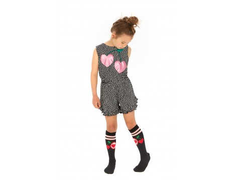 Wauw Capow Cherries Knee Socks
