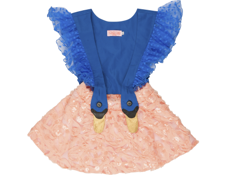 Wauw Capow Bird Girl Frill Dress