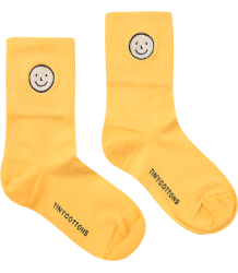 Tiny Cottons Medium Socks HAPPY FACE Tiny Cottons Medium Socks HAPPY FACE