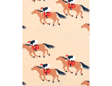 Tiny Cottons SS Tee HORSE FUN RUN