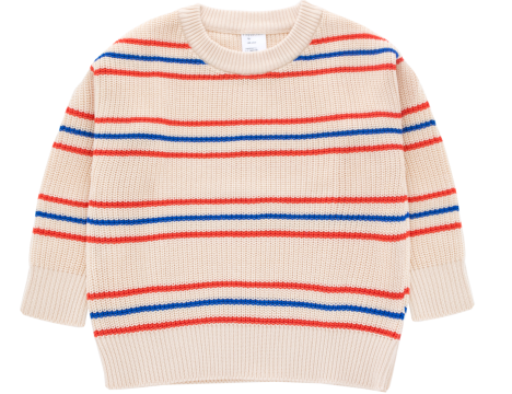 Tiny Cottons Knitted Sweater STRIPES