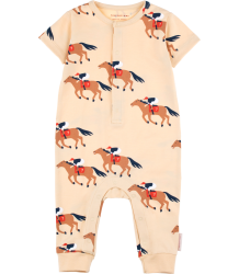 Tiny Cottons HORSE FUN RUN SS One-Piece Tiny Cottons HORS RUN SS One-Piece
