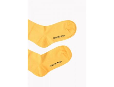 Tiny Cottons Medium Socks HAPPY FACE