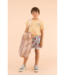 Tiny Cottons SS Tee ADVENTURE STRIPES