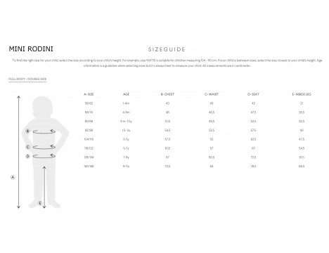 Mini Rodini Pico Jacket - LIMITED EDITION