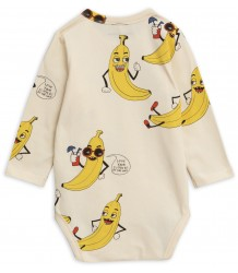 Mini Rodini BANANA aop LS Body Mini Rodini BANANA aop LS Body