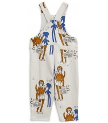 Mini Rodini COOL MONKEYS aop Dungarees Mini Rodini COOL MONKEYS aop Dungarees