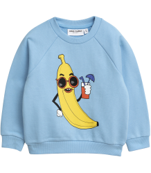 Mini Rodini BANANA SP Sweatshirt Mini Rodini BANANA SP Sweatshirt blue