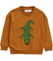 Mini Rodini CROCCO SP Sweatshirt Mini Rodini CROCO SP Sweatshirt pink