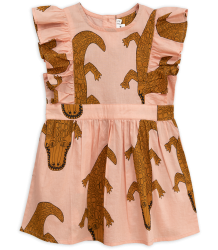 Mini Rodini CROCCO Ruffled Dress Mini Rodini CROCCO Ruffled Dress