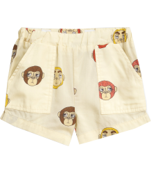Mini Rodini MONKEYS Woven Shorts - LIMITED EDITION Mini Rodini MONKEY Woven Shorts