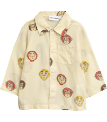 Mini Rodini MONKEYS LS Woven Shirt - LIMITED EDITION Mini Rodini MONKEY LS Woven Shirt