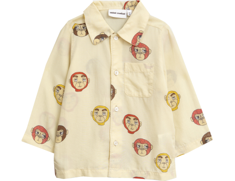 Mini Rodini MONKEYS LS Woven Shirt - LIMITED EDITION
