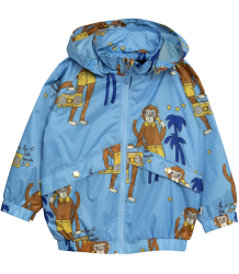 Mini Rodini COOL MONKEY Sporty Jacket - LIMITED EDITION Mini Rodini COOL MONKEY Sporty Jacket Afbeelding wijzigen blue