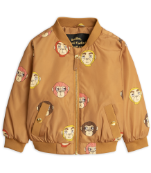 Mini Rodini MONKEY Baseball Jacket - LIMITED EDITION Mini Rodini MONKEY Baseball Jacket