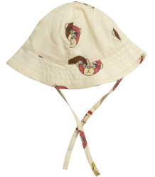 Mini Rodini MONKEYS Sun Hat - LIMITED EDITION Mini Rodini MONKEY Sun Hat