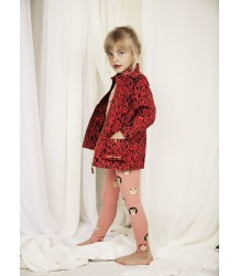 Mini Rodini LEOPARD Piping Jacket - LIMITED EDITION Mini Rodini LEOPARD Piping Jacket