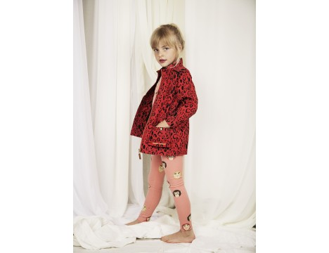 Mini Rodini LEOPARD Piping Jacket - LIMITED EDITION