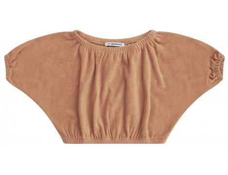 Mingo Cropped Top Terry