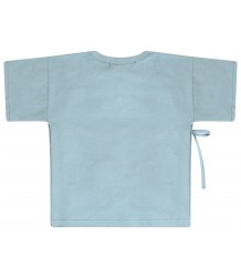 Mingo Wrap Top Mingo Wrap Top smoke blue