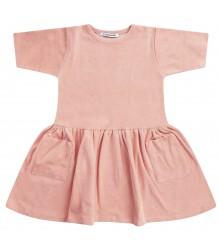 Mingo Dress Terry Mingo Dress Terry peach