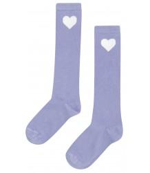Mingo Knee Socks HEART Mingo Knee Socks HEART lilac