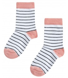 Mingo Socks STRIPES Mingo Socks STRIPES peach pink