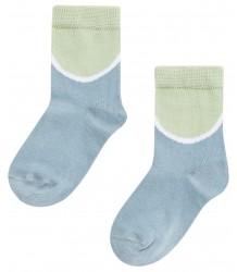 Mingo Socks COLOURBLOCK Mingo Socks COLOURBLOCK mint smoke blue