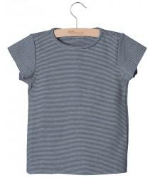 Little Hedonist ISABEL Summer Shirt STRIPE Little Hedonist ISABEL Summer Shirt pirate black striped