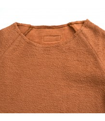 Little Hedonist JONATHAN Sweater Terry Little Hedonist JONATHAN Sweater Terry mocha