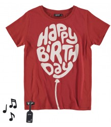 Yporqué HAPPY BIRTHDAY Tee (sound) Yporque HAPPY BIRTHDAY Tee with sound