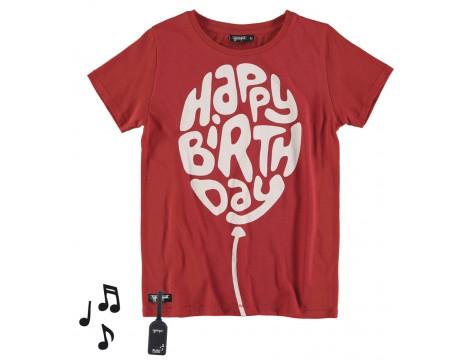 Yporqué HAPPY BIRTHDAY Tee (sound)