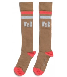 Wolf & Rita Long Socks W&R Wolf & Rita Long Socks W&R taupe