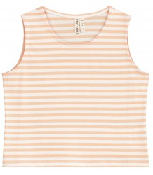Gray Label Cropped Tank Top STRIPE Gray Label Cropped Tank Top pop and white stripe