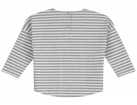 Gray Label LS Dropped Shoulder Tee STRIPE