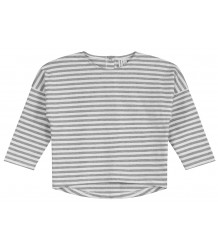 Gray Label LS Dropped Shoulder Tee STRIPE Gray Label LS Dropped Shoulder Tee STRIPE grey melange white